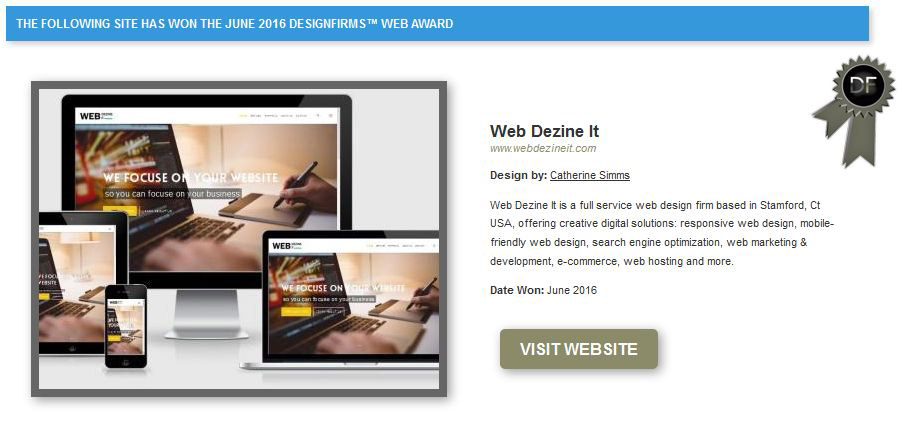 award winning web marketing